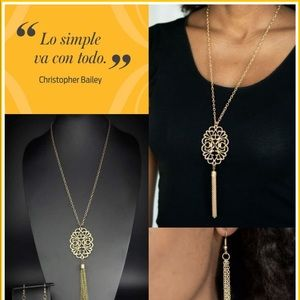 A Mandala Of The People Brass Necklace $5